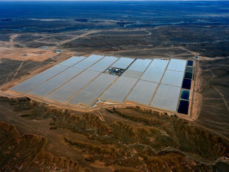 BASF contribui para a construção sustentável da maior usina de energia solar concentrada do mundo, em Marrocos