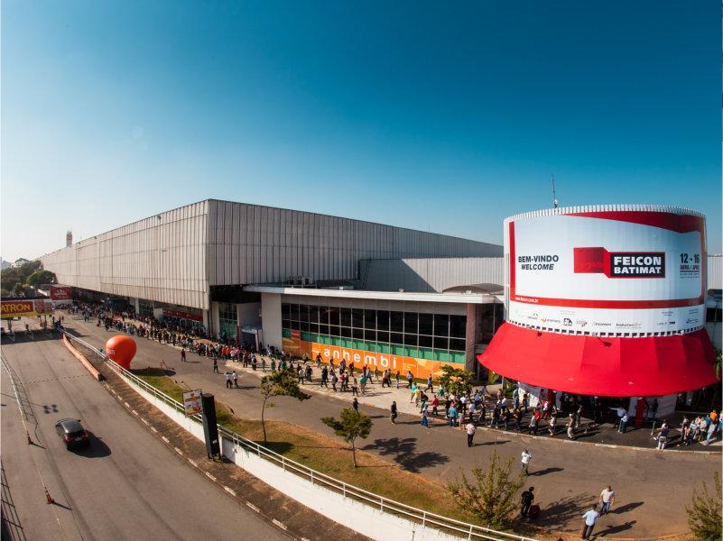 Feicon Batimat 2017 traz novas experiências para o setor em novo pavilhão com planta totalmente setorizada