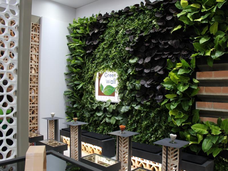 Green Wall Ceramic participa da Expo Revestir 2017 com soluções inovadoras e práticas para criação de Jardins Verticais