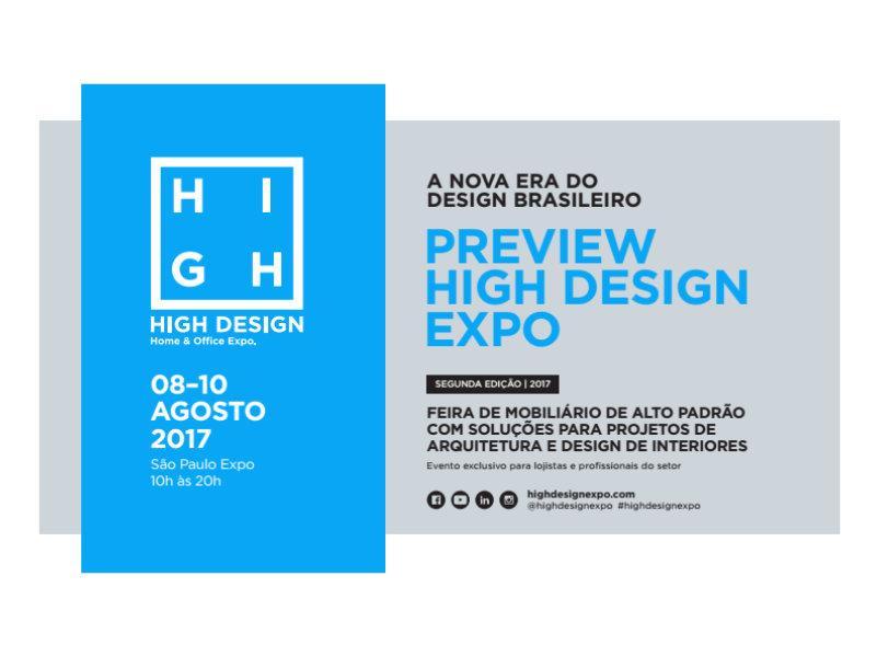 2ª edição da High Design Expo apresenta crescimento de expositores e conteúdo diferenciado