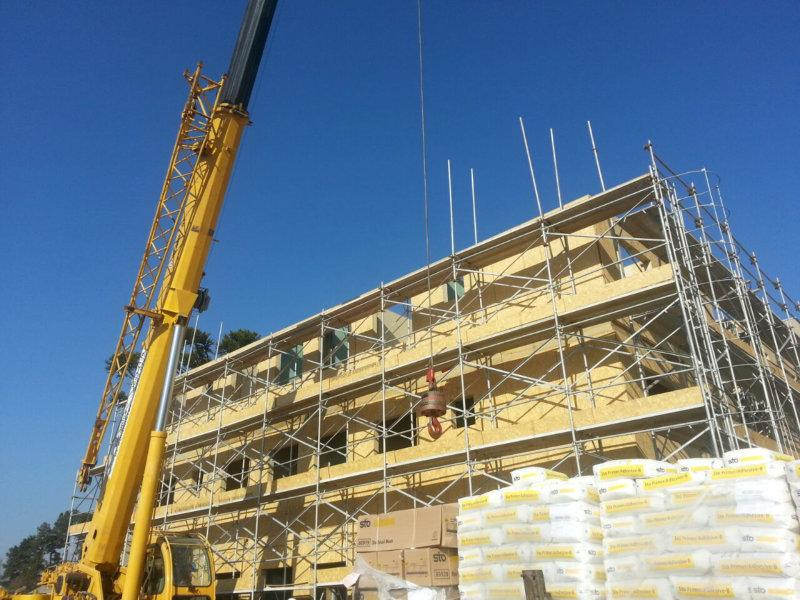 Setor da Construção Civil se reúne para conhecer 1º prédio wood frame do Brasil - sustentável e industrializado