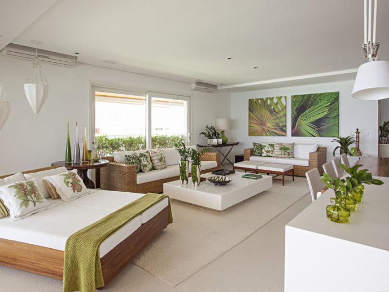 Conforto e praticidade no apartamento de praia reformado pela Korman Arquitetos