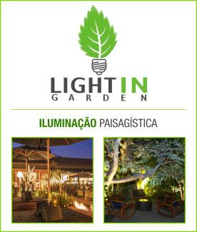 Banner light in garden - Interno