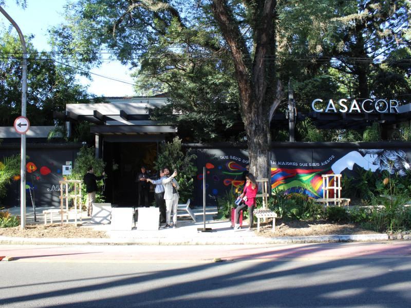Confira os jardins da CASACOR SP 2018