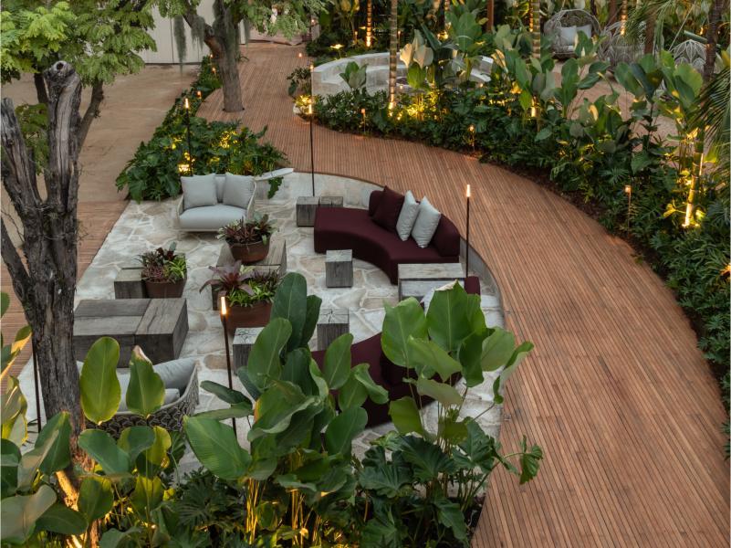 Os lindos Jardins da CASACOR São Paulo 2019