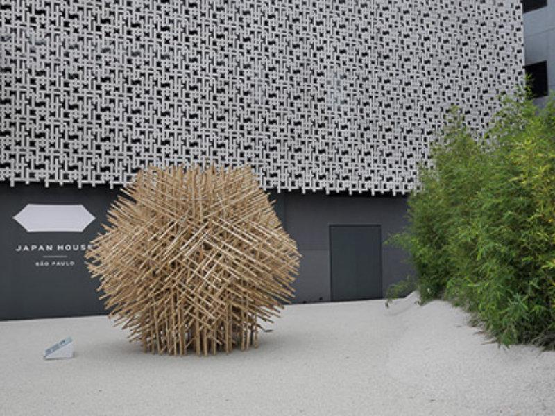 Alex Hanazaki assina paisagismo da Japan House São Paulo