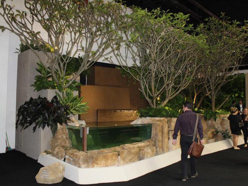 Alex Hanazaki assina linha Lagoon para Cristal Pool