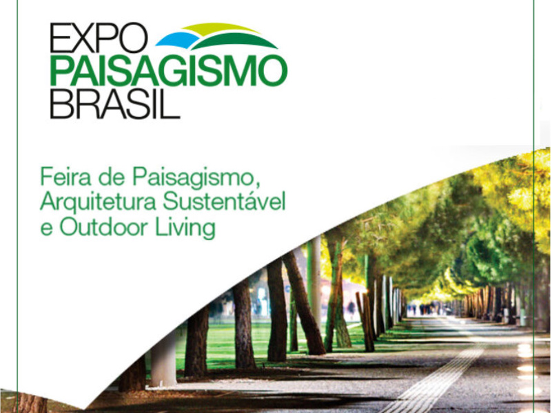 Expo Paisagismo Brasil prepara os profissionais para os novos desafios da atividade