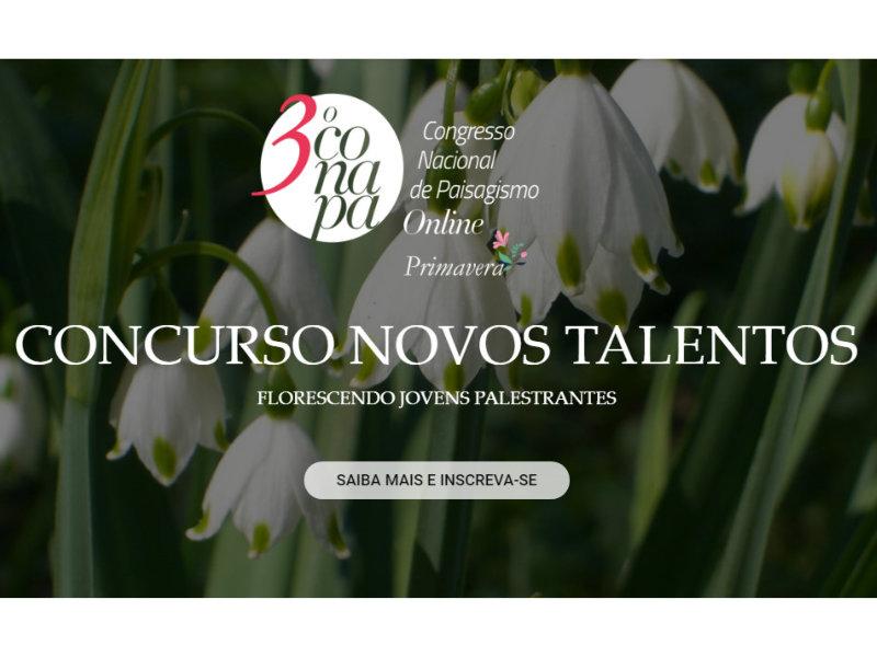 1º Concurso Conapa Novos Talentos no Paisagismo