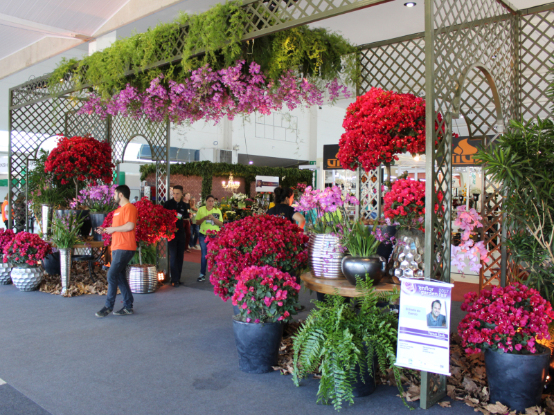 Enflor e Garden Fair fomentam oportunidades de negócios no setor de Flores e Plantas