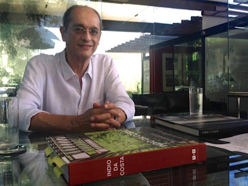 Arquiteto Índio da Costa lança livro em São Paulo