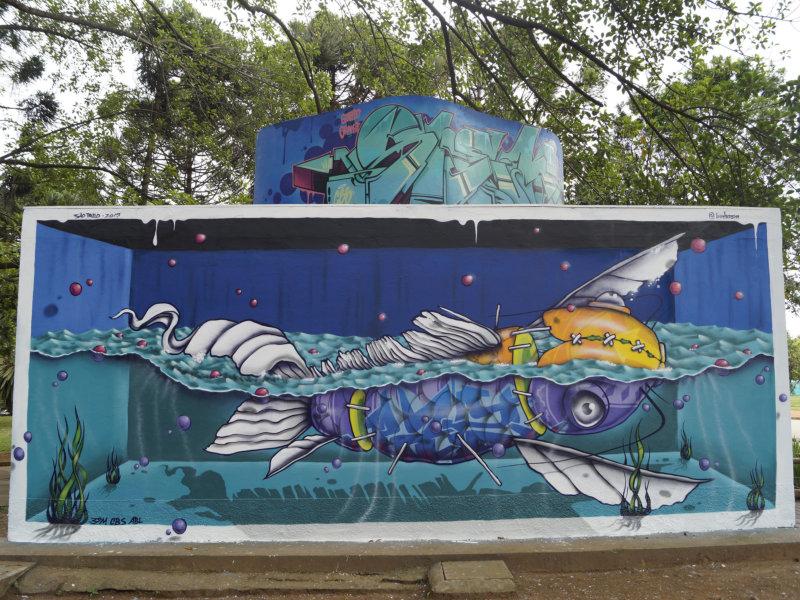 Colorgin apoia projeto de intervenção artística no Parque do Ibirapuera