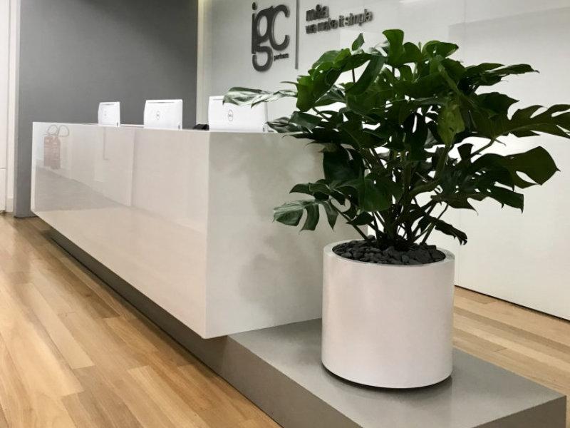 Paisagismo corporativo com Corona Design