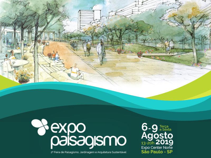 EXPO PAISAGISMO 2019 traz novidades e conteúdo para os profissionais do setor